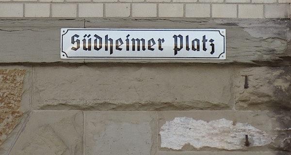 """Unser erstes """"Südfeuer"""" am Südheimer Platz"""