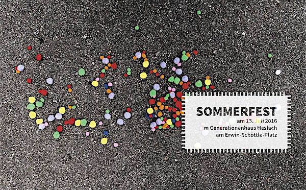 """Sommerfest """"machen-wir-was"""" im Generationenhaus Heslach"""