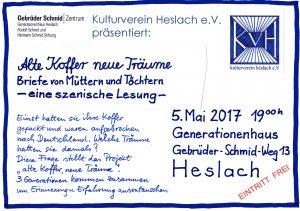 Flyer Kulturverein Heslach